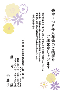 寒中カラー [桔梗]