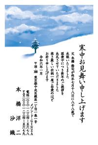寒中見舞い特選 [菊]